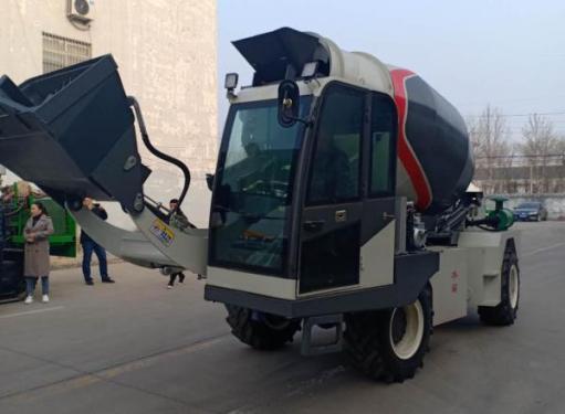 祥瑞重工ZZ-1.2自上料1.2方混凝土搅拌车
