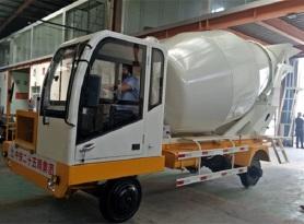 祥瑞重工SD-1隧道专用小型搅拌车