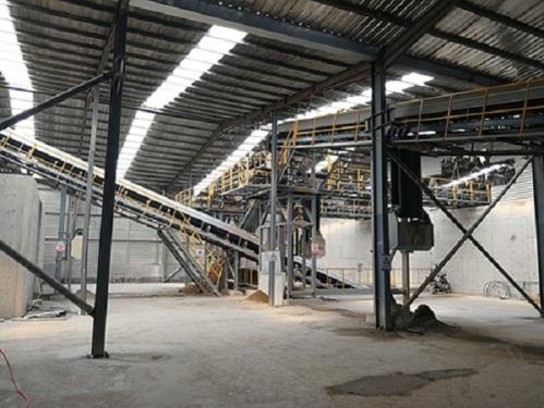 冠成机械HLS90全自动后台上料混凝土搅拌楼