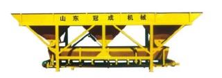 冠成机械PL1600C三斗一字型混凝土配料机
