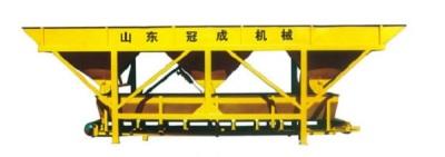 冠成机械PL1200C三斗一字型混凝土配料机高清图 - 外观