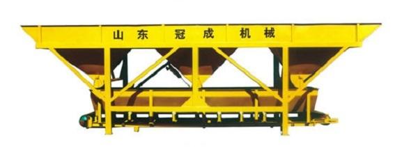 冠成机械PL1200C三斗一字型混凝土配料机