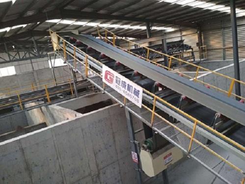 冠成机械HLS120全自动后台上料混凝土搅拌楼