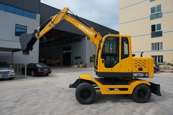 兴皓机械XH75W-8轮式挖掘机
