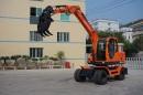 兴皓机械XH80W-8轮式挖掘机高清图 - 外观