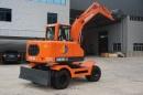 兴皓机械XH80W-9轮式挖掘机高清图 - 外观