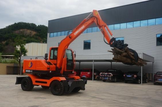 兴皓机械XH90W-9轮式挖掘机