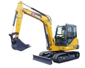 徐工XE60DA挖掘机高清图 - 外观