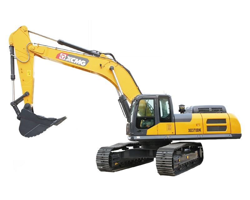 徐工XE370DK挖掘機高清圖 - 外觀