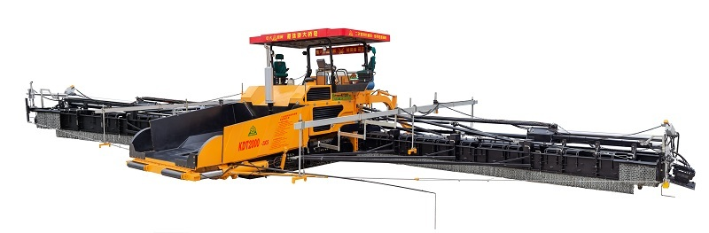 中大机械Power  KDT2000抗离析 超大型 动态大幅变宽 无纵缝整体成型 多用途摊铺机