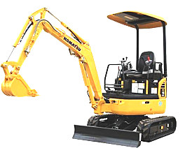 小松PC18MR-3液压挖掘机