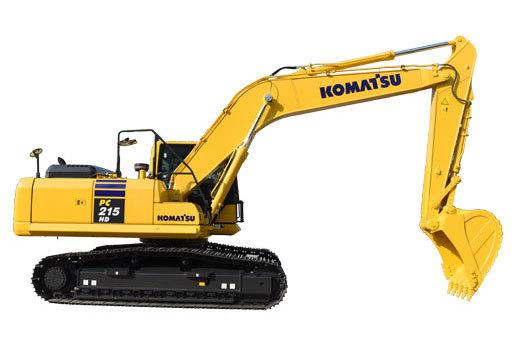 小松PC215HD-10MO液压挖掘机