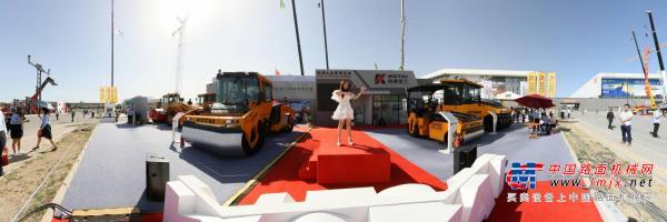路面机械网带您720度全景看科泰重工BICES展区