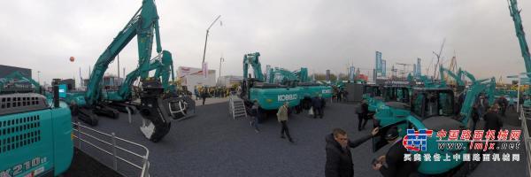 720°全景:神钢德国bauma2019-中国路面机械网&Global-CE出品