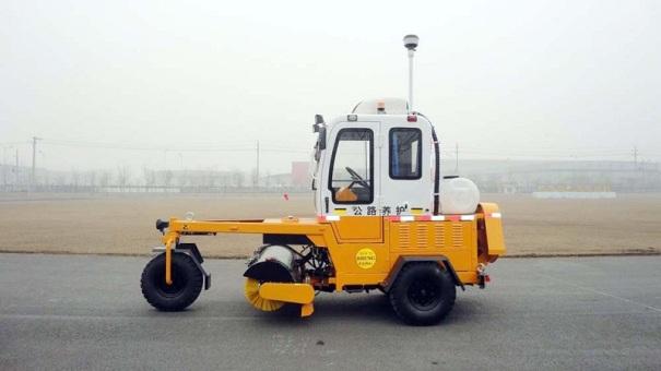 高远圣工GYQS1500E型强力清扫机