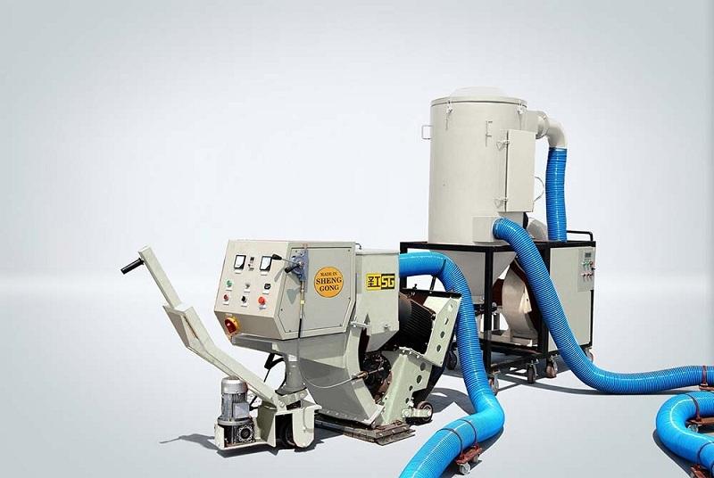 高远圣工GYSPW2080型路面抛丸整形机