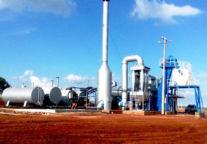 亚龙筑机DHB40移动式沥青混合料搅拌设备