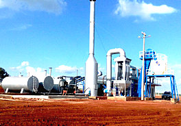 亚龙筑机DHB100移动式沥青混合料搅拌设备