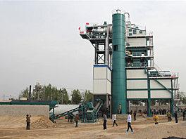 亚龙筑机SLB500沥青混合料搅拌设备