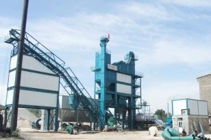 亚龙筑机LB500沥青混合料搅拌设备