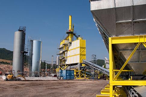 瑪連尼TOP TOWER 3000 P E 250瀝青攪拌設備