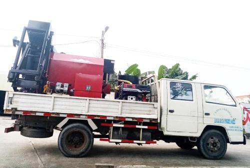 易山重工CLYB-CYB1000车载式沥青路面养护车热再生修补车滚筒炒料机(废料再生,生产新料))