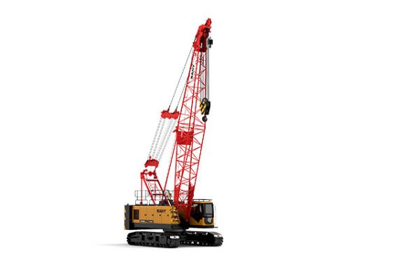 【720° VR Display】 Sany SCC550A Crawler Crane