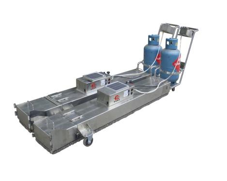 易山重工ESNJ-L2×4手拉式小型沥青混合料热再生设备