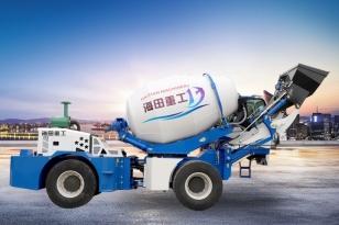 海田重工HT-3.2立方自上料搅拌机(双轮)