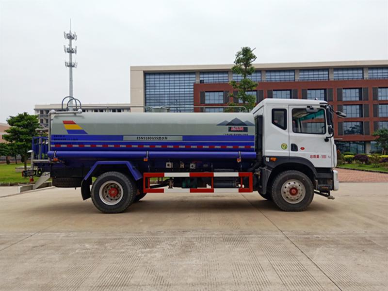 易山重工ESN5180GSS绿化洒水车(厂家可租赁)高清图 - 外观