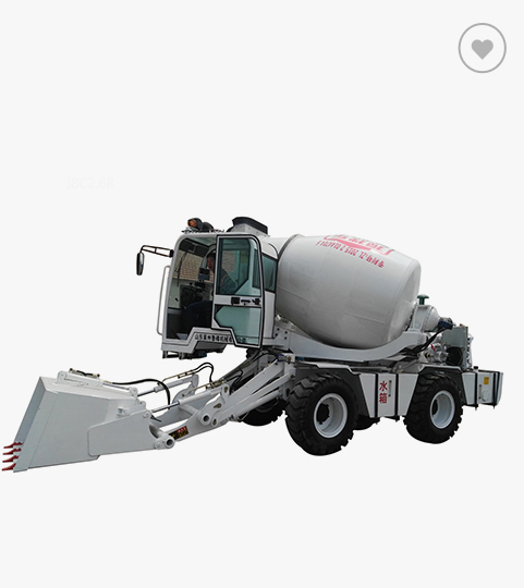鲁樽机械LZ-2.6方自动上料搅拌车高清图 - 外观