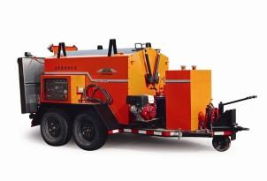 易山重工CLYB-15001500L料箱拖挂式沥青路面综合养护车(冷料加热、保温运输、路面加热、乳化沥青喷洒)