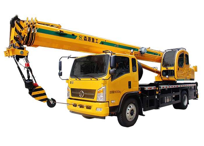 森源重工国标12吨汽车起重机  SMQ5160JQZ高清图 - 外观