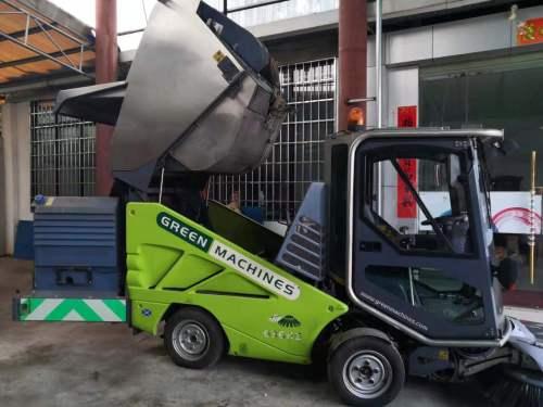 易山重工坦能多功能紧凑型城市清扫机出租(步行街扫路车,小区物业扫路车,商业区扫路车))