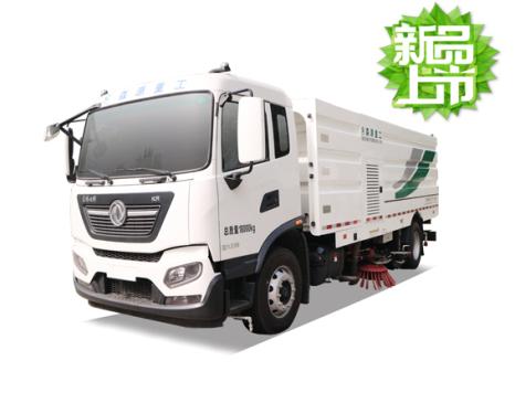 森源重工SMQ5180TXSDFE6型洗扫车清扫车