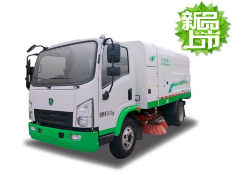 森源重工SMQ5073TSLBEV型扫路车清扫车