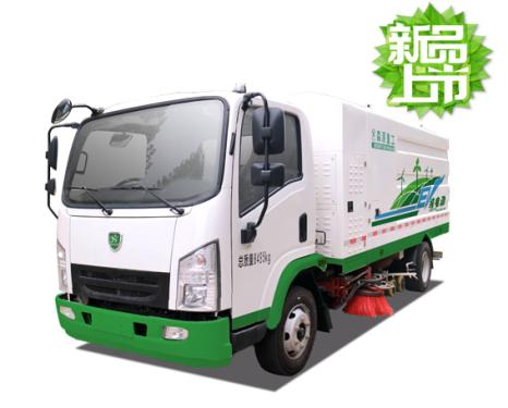 森源重工SMQ5080TXSBEV型洗扫车清扫车