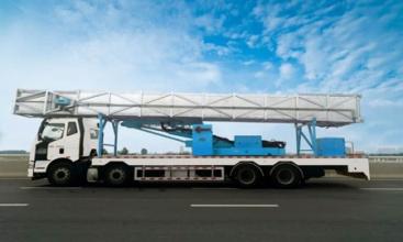 宇通重工YTZ5312QJ11D522HP橋梁檢測車高清圖 - 外觀