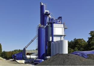 安迈ABP 240 UNIVERSAL间歇式沥青混凝土搅拌站高清图 - 外观