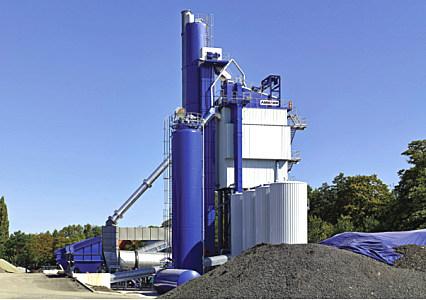 安迈ABP 240 UNIVERSAL间歇式沥青混凝土搅拌站�