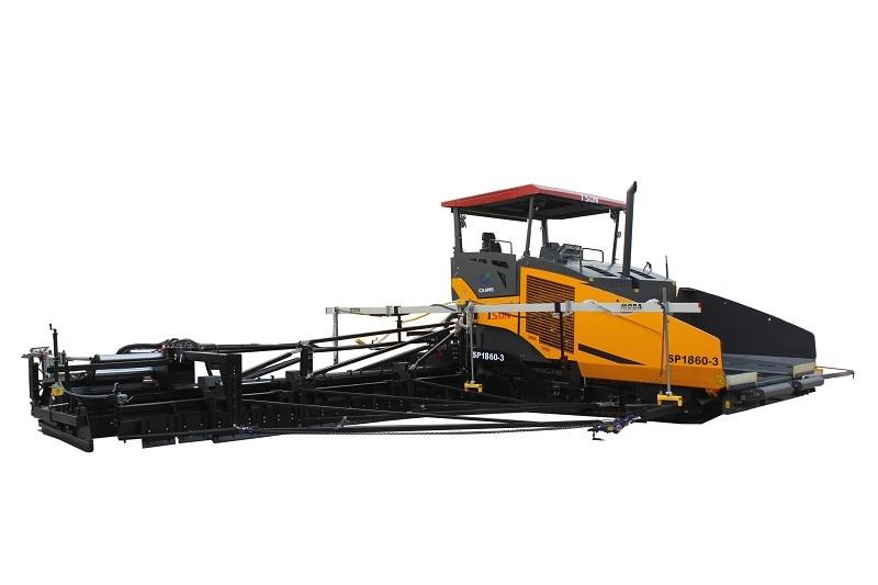 天顺长城SP1860-3超大型多功能摊铺机