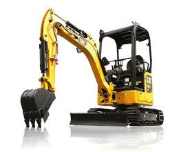 卡特彼勒新一代Cat®301.7CR迷你型挖掘机高清图 - 外观