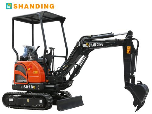 山鼎机械SD18U(尊贵型)小型挖掘机
