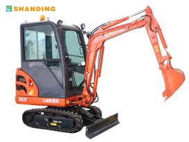 山鼎机械SD20B小型挖掘机