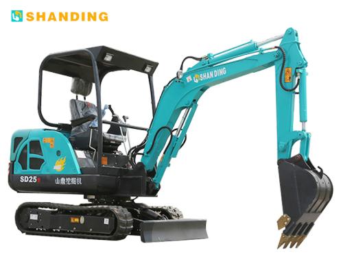 山鼎机械SD25B小型挖掘机