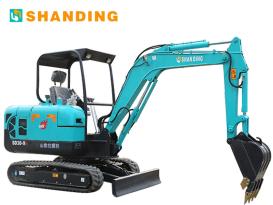 山鼎机械SD30-9B小型挖掘机