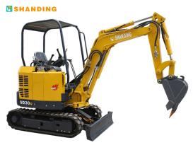 山鼎机械SD30U小型挖掘机