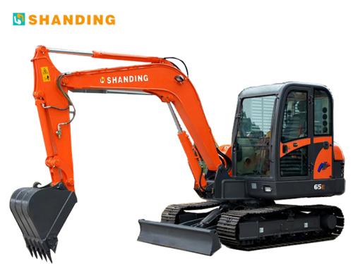 山鼎机械SD65E小型挖掘机
