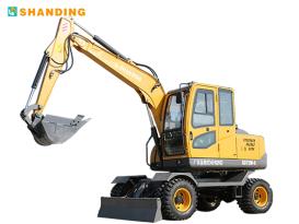 山鼎机械SD75W-9T轮式挖掘机