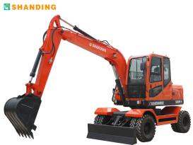 山鼎机械SD80W-9T轮式挖掘机